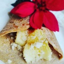 Apple Coconut Crepe