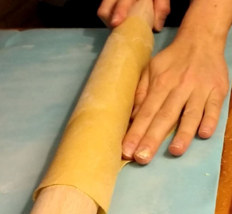 Picture of Stretching With the Rolling Pin