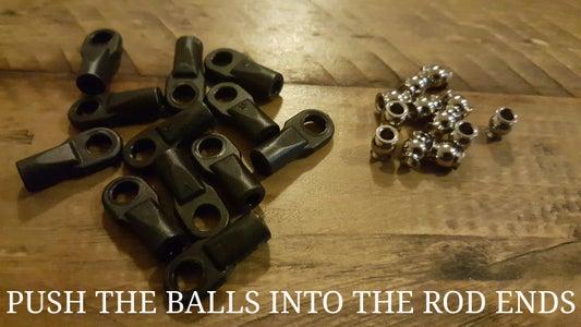 Prepare the Carbon Rods