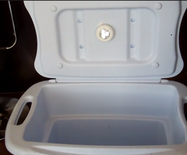 Have your camping cooler light up like your fridge when you open it for $5!