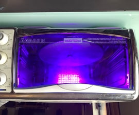 UV Cure Station for 3D Printed SLA Parts