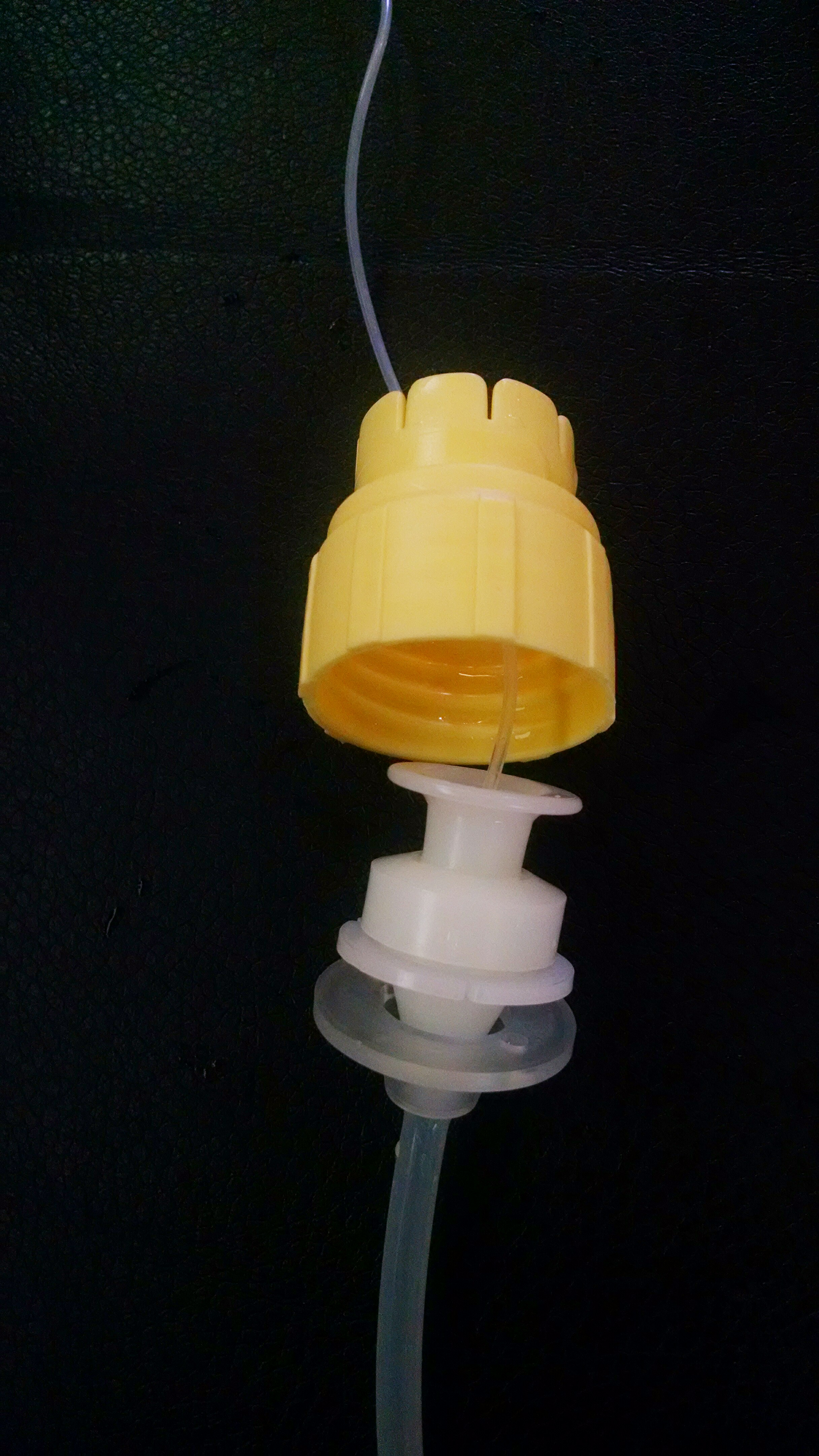 Picture of Attach Cap to Tubing