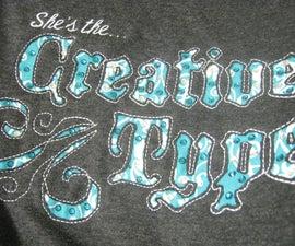 Embroidered TShirt MOD
