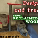 Reclaimed Wood DIY Design Cat Tree