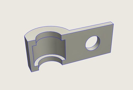 Modeling the Cart Connection Clamp