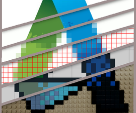 From Logo to Lego - Creating a Lego Mosaic