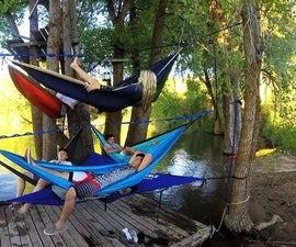 Multi-hammock pitch kit