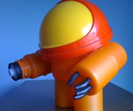 Make a baby Samus Aran using plastic trash (special guests: The Caicedo-Langer Family!)