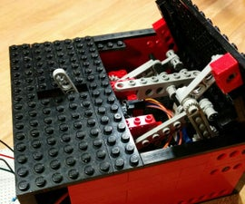 Arduino UselessLegoBox