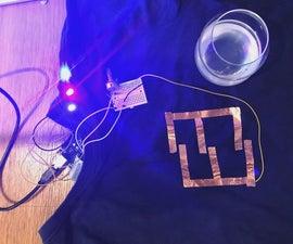 E-textile Project: Sweat Light T-shirt   (TfCD)