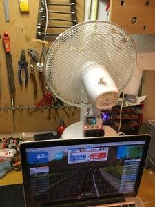 Internet Connected Fan for Zwift