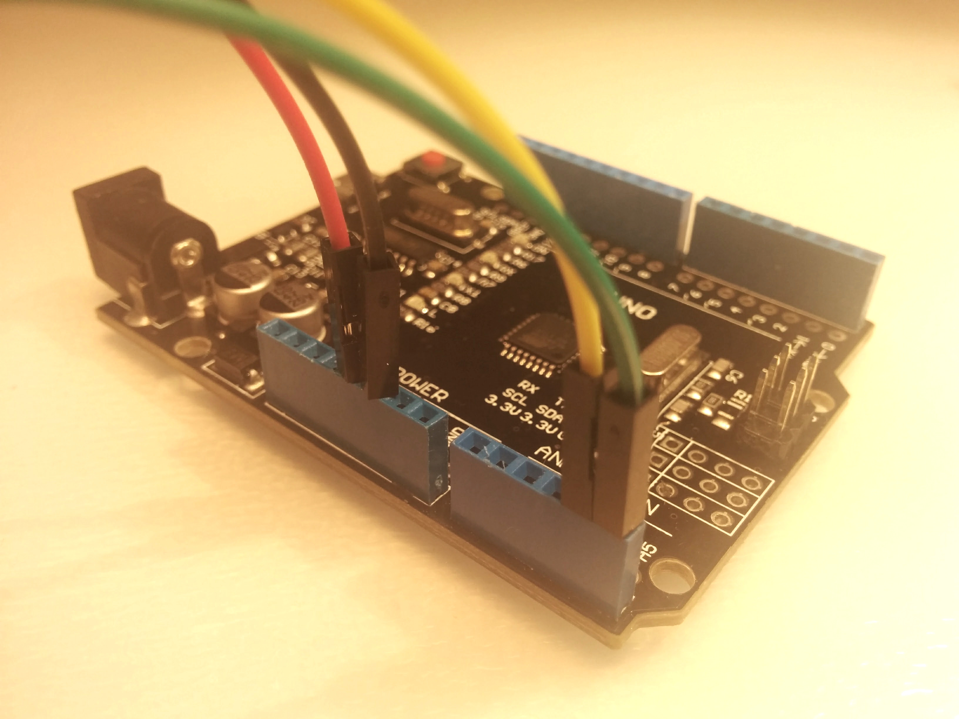 Picture of Wiring OLED Display Module to Arduino