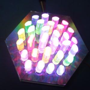 Hexagon LED Panel Preparation