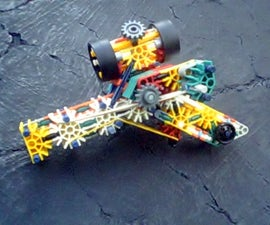 Knex R.C.P. Mk3 (Reversed Crossbow Pistol)