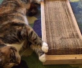Cardboard Cat Scratcher