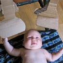 Bar Codes for Babies: A Mobile From Boxes