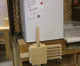 Wooden Bar Combination Lock