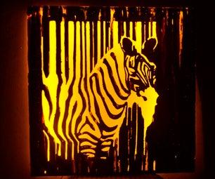 Wall Lamp (Zebra)