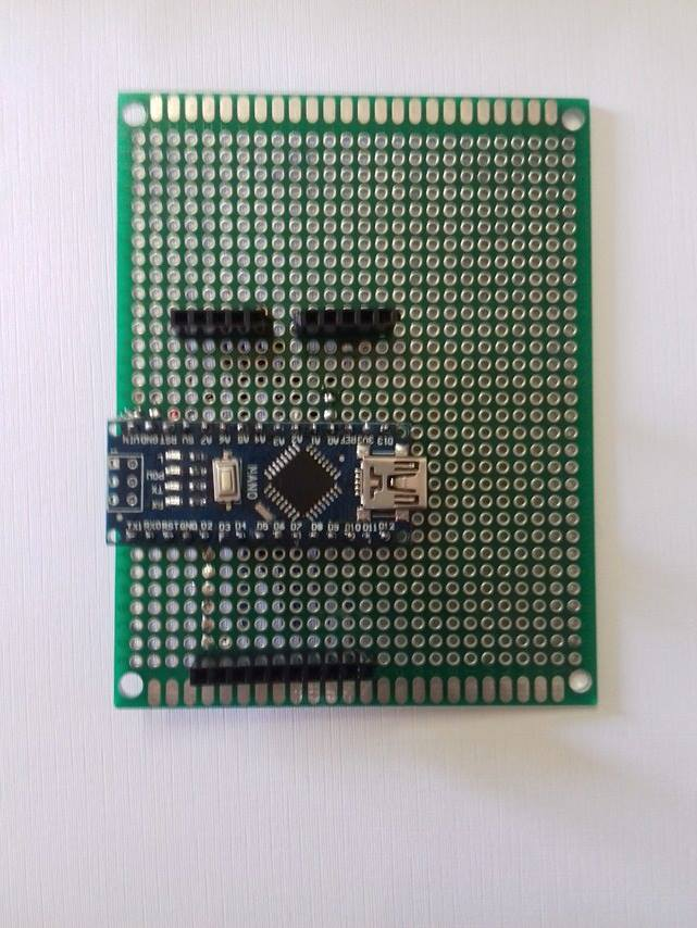 Picture of Customizing TFT2.4 Data Wires for Arduino Nano