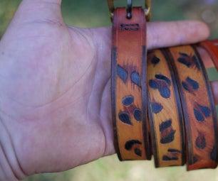 Leopard Pattern on Leather.