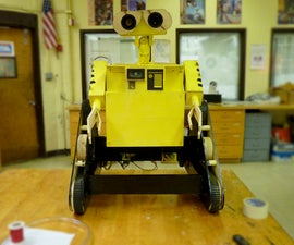 Wall-E Made From Scratch