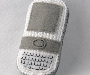 Crochet an Amigurumi Cell Phone Buddy
