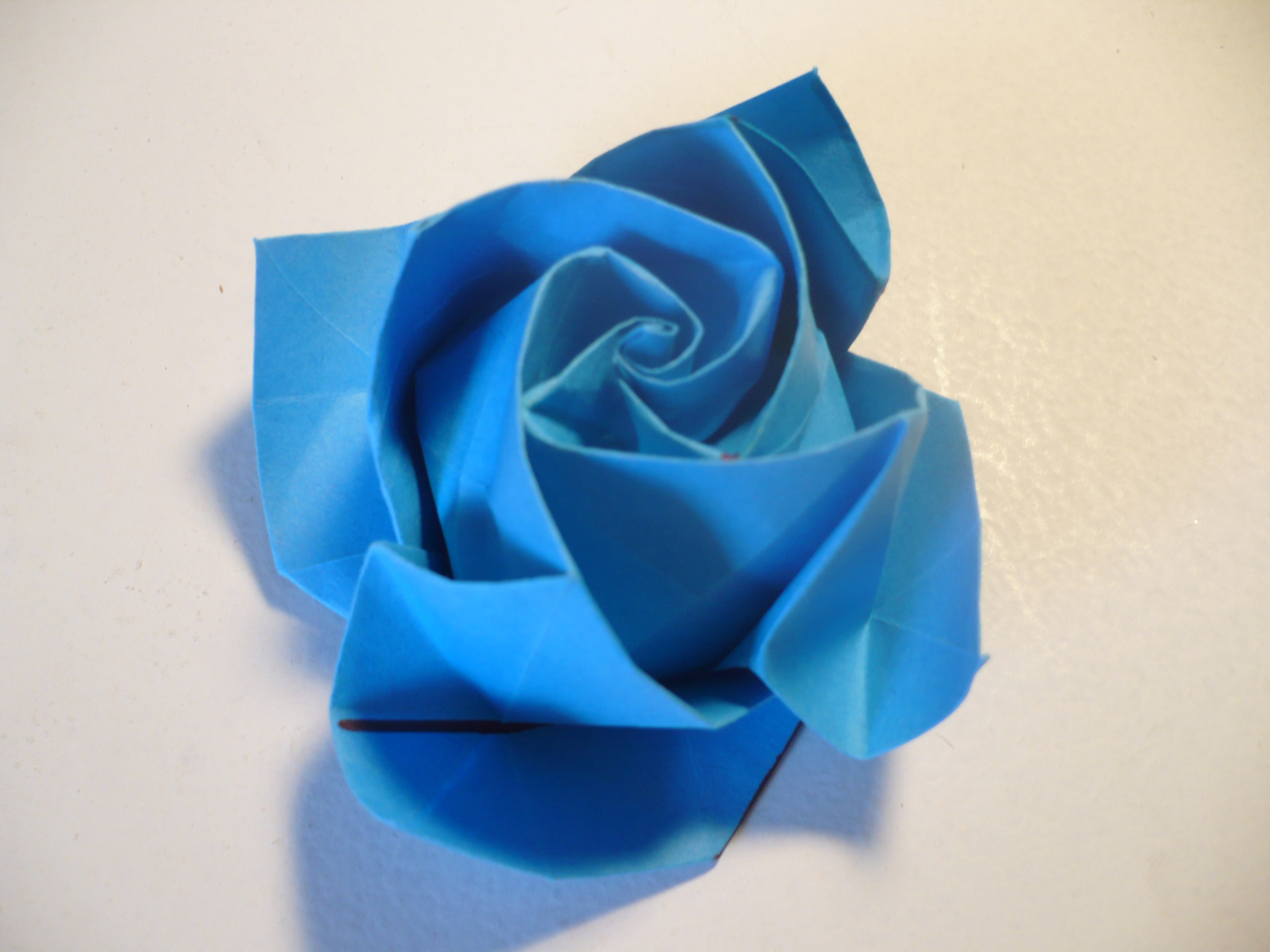 Picture of Origami Rose in Bloom