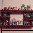 Donkey Kong Shelf with Perler Beads