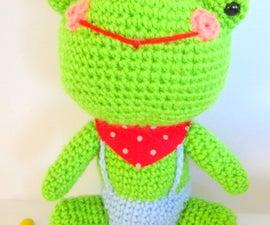 Free amigurumi frog pattern