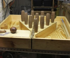 Collapsible Tabletop Bowling Game