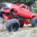 MyRCCar 1/10 MTC Chassis Rigid Axles Version. Customizable Chassis for Monster, Crawler or Scale RC Car