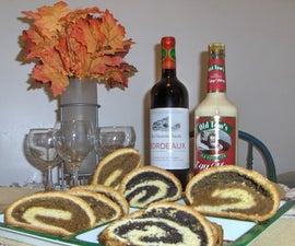 Bejgli (Hungarian Poppy Seeds and Walnut Rolls)