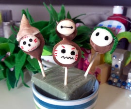 DIY Moana Kakamora Brownie Cake Pops