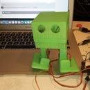 bowie dancing robot
