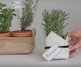 3 Ways to Wrap Potted Plants