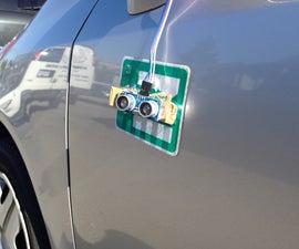 Blind Spot Detection: Arduino + Distance Sensor + Matlab GUI