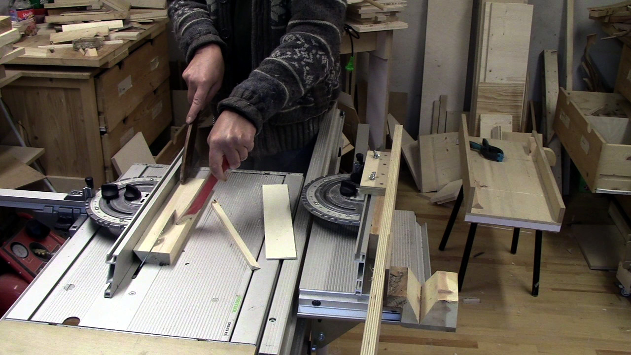 Picture of Sawing Strips