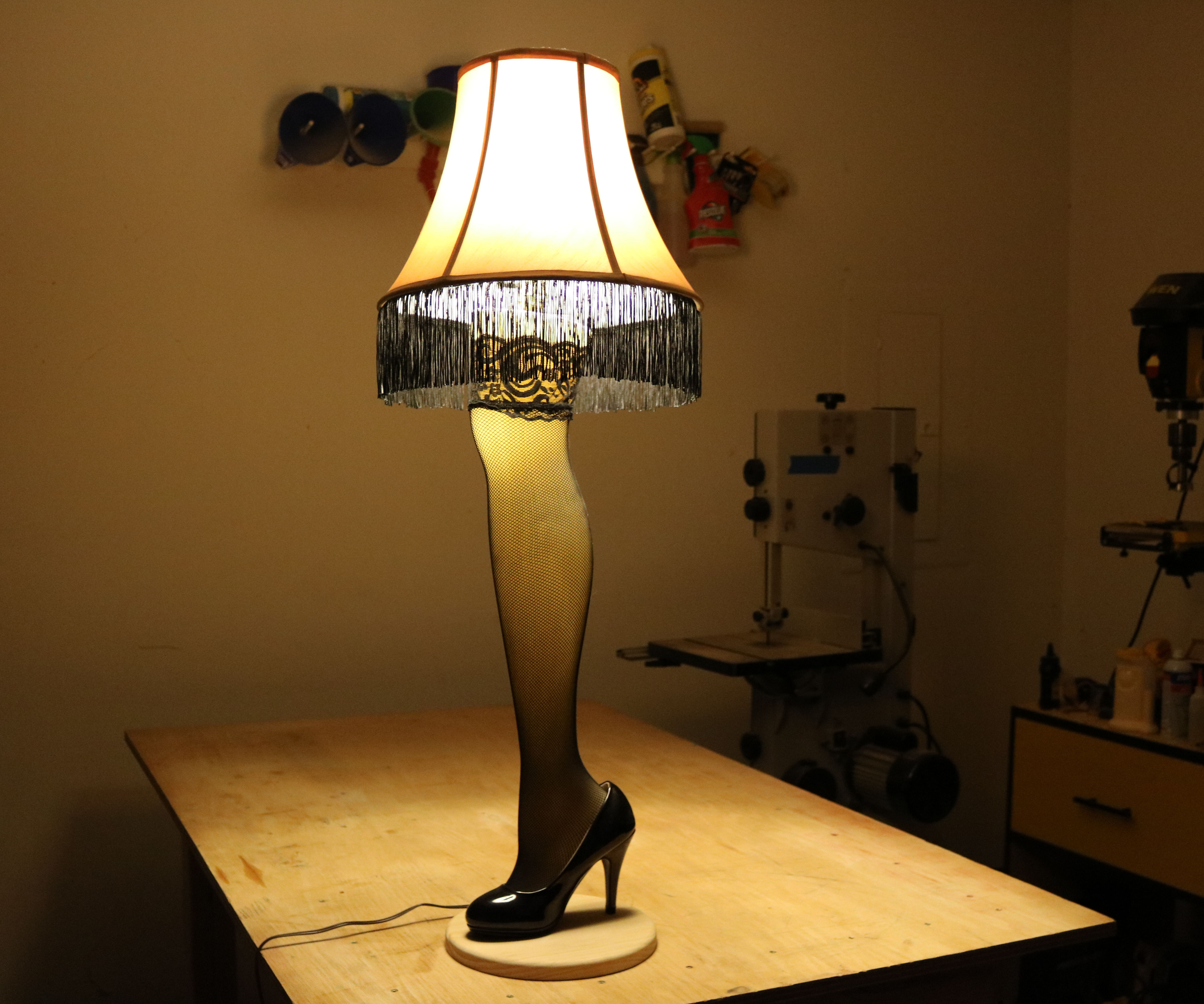 The Leg Lamp From A Christmas Story 7 Steps With Pictures