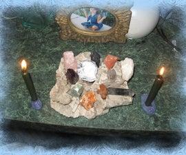 "Mini ""Prayer Candle"" Holders"