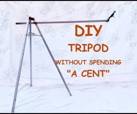 DIY Tripod | How to Make Smartphone and Camera Tripod by Antenna