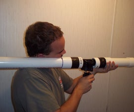 Airsoft or Paintball Home Made Pneumatic Trigger Air Cannon