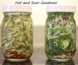 Spicy Relish and Other Pickles