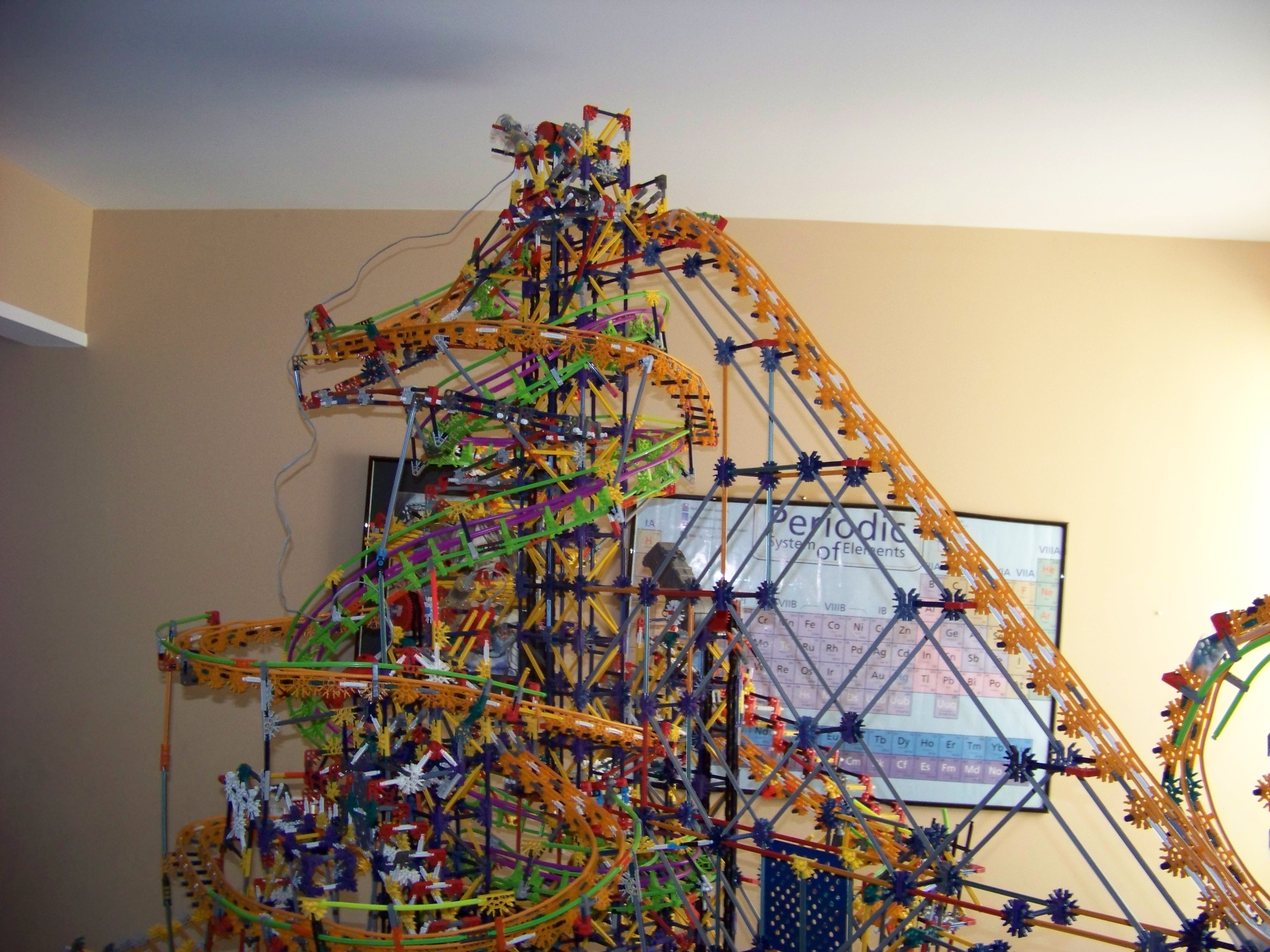 Picture of CHAOS, K'nex Ball Machine