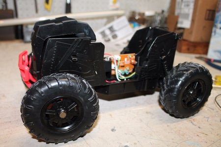 Disassemble the RC Car