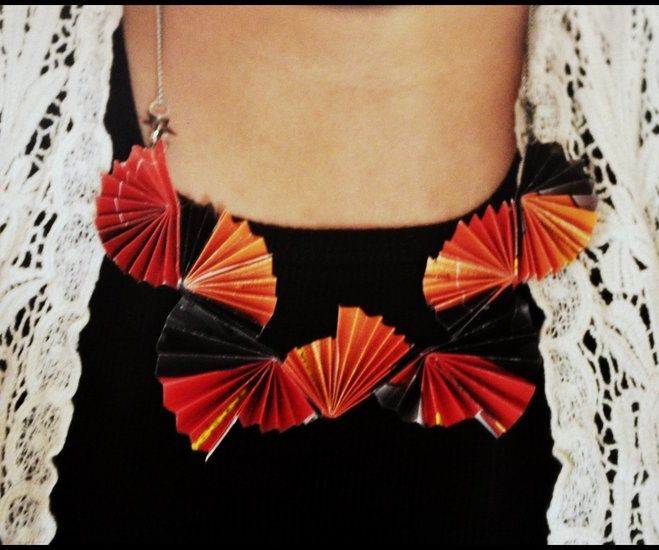 Picture of Paper Fan Necklace