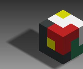DIY 3D Cube Puzzle