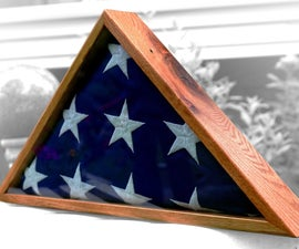 Reclaimed Oak (pallet Wood) Flag Box