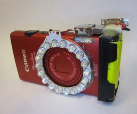 Blackberry Battery Canon Camera Ring Light Hack