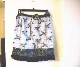 Boxer Shorts Skirt