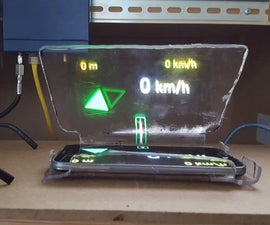 Phone Driving Heads Up Display (HUD)